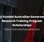 Australia Research Training Program (RTP) Scholarships