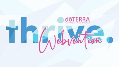 Photo of dōTERRA AU/NZ THRIVE WEBvention 2020