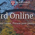 Harvard University Free Online Courses 2020
