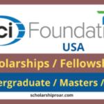 ACI Foundation International Postgraduate Scholarships/Fellowships 2020