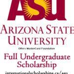 MASTERCARD ARIZONA STATE UNIVERSITY SCHOLARS PROGRAM 2021 FOR AFRICAN STUDENTS