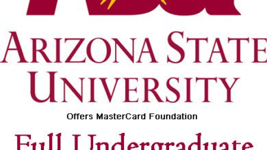 Photo of MASTERCARD ARIZONA STATE UNIVERSITY SCHOLARS PROGRAM 2021 FOR AFRICAN STUDENTS