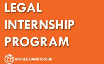Photo of WORLD BANK'S LEGAL INTERNSHIP PROGRAM