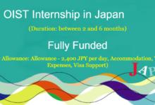 Photo of OIST INTERNSHIP IN JAPAN 2021: FULLY FUNDED FOR FRESH GRADUATES, UNDERGRADUATES, AND GRADUATES STUDENTS