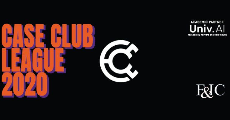 Case Club League 2020 – Case Study Competition