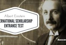 Photo of ALBERT EINSTEIN AND THE BENZ FOUNDATION EUR 10,000 SCHOLARSHIPS