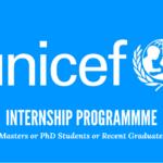 UNICEF INTERNSHIP FOR FRESH GRADUATES