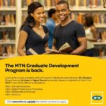 MTN GRADUATE TRAINEE PROGRAMME 2021 FOR YOUNG GRADUATES ACROSS AFRICA