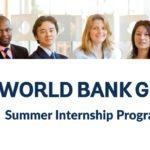 World Bank Group Summer Internship Program 2021 in USA for International Students