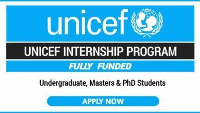 Photo of 2021/22 UNICEF Internship Programme