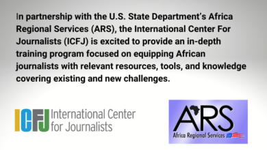 Photo of The International Center for Journalists (ICFJ)Mobile Journalism Training for African Journalists 2021/22
